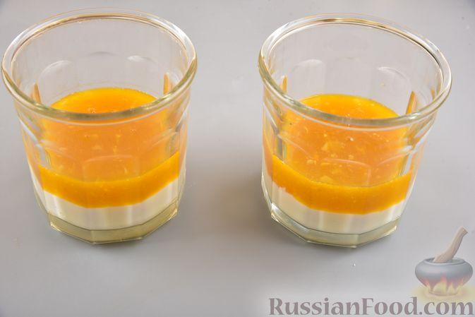 Фото приготовления рецепта: Десерт из творога с облепихой - шаг №10
