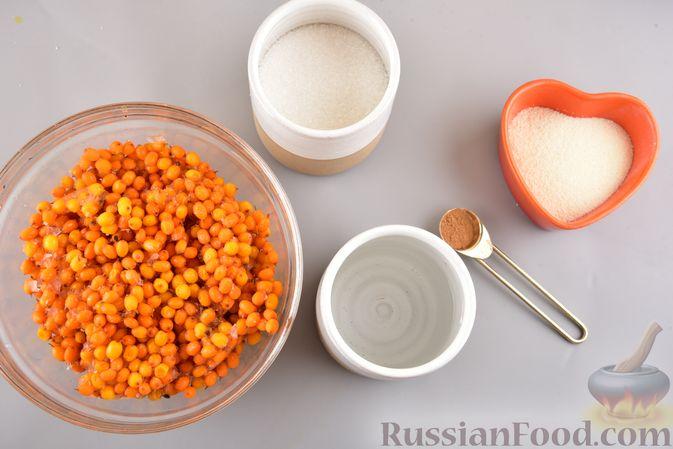 Фото приготовления рецепта: Мусс из облепихи с манной крупой - шаг №1