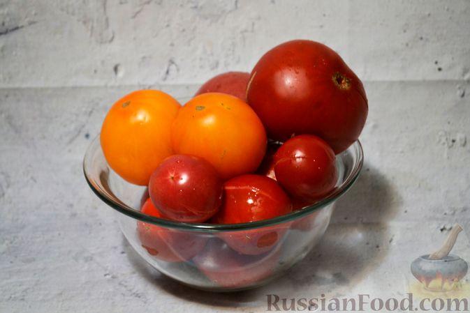 Фото приготовления рецепта: Кетчуп с яблоками на зиму - шаг №2