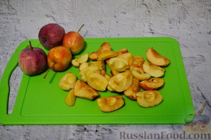 Фото приготовления рецепта: Кетчуп с яблоками на зиму - шаг №6