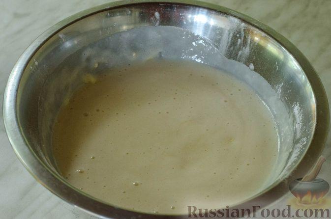 """Фото приготовления рецепта: Дрожжевые булочки """"Розочки"""" с яблоками - шаг №13"""