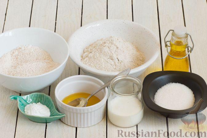 Фото приготовления рецепта: Медово-ржаное печенье - шаг №1