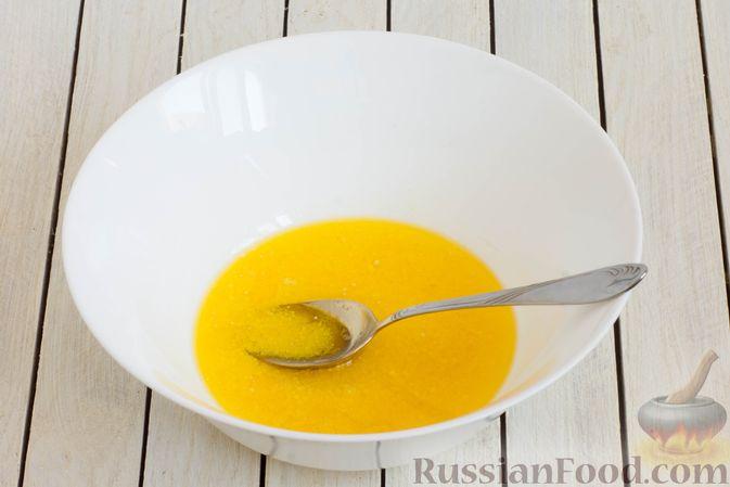 Фото приготовления рецепта: Медово-ржаное печенье - шаг №2