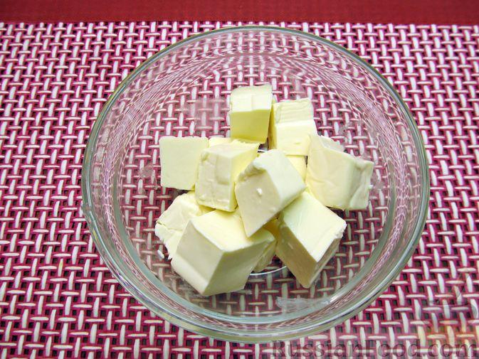 Фото приготовления рецепта: Запеканка из цветной капусты и бекона, в сливочно-сырной заливке - шаг №5