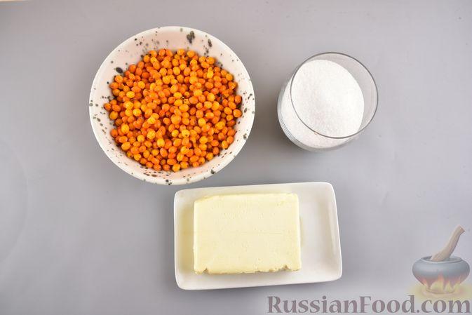 Фото приготовления рецепта: Намазка с облепихой для сладких бутербродов - шаг №1