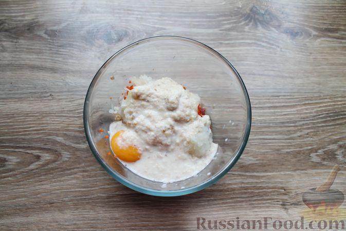Фото приготовления рецепта: Мясные котлеты с морковью на пару - шаг №7