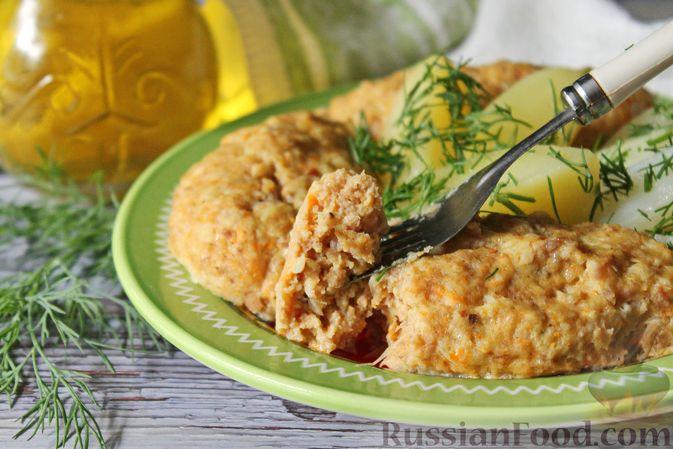 Фото приготовления рецепта: Мясные котлеты с морковью на пару - шаг №13