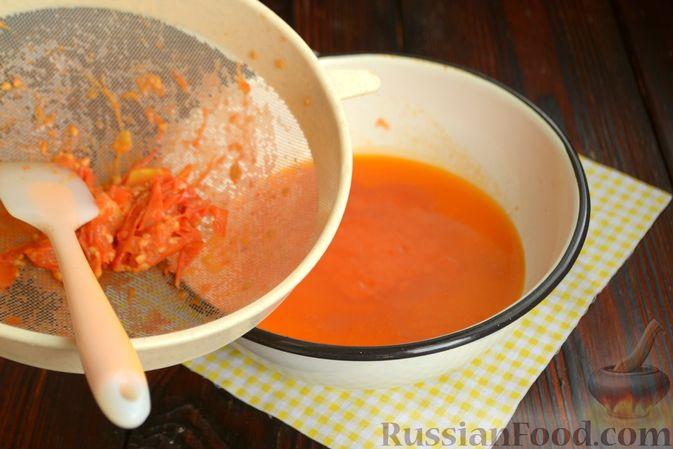 Фото приготовления рецепта: Куриный суп с помидорами и рисом - шаг №12
