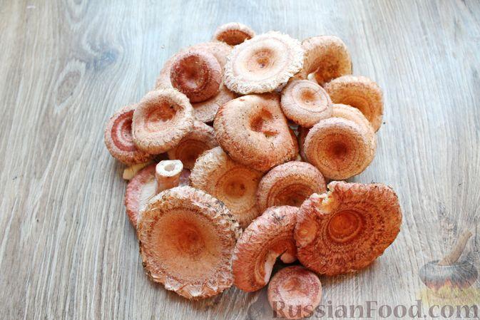 Фото приготовления рецепта: Жареные волнушки в сметане - шаг №1