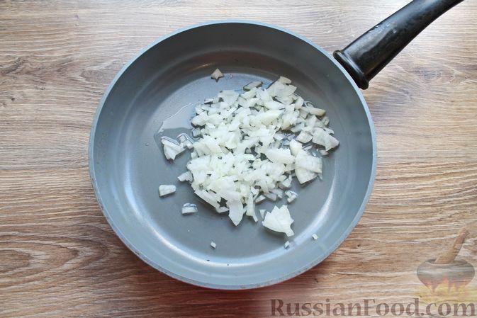 Фото приготовления рецепта: Жареные волнушки в сметане - шаг №5