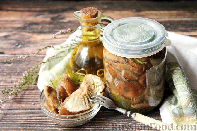Фото к рецепту: Солёные волнушки (на зиму)