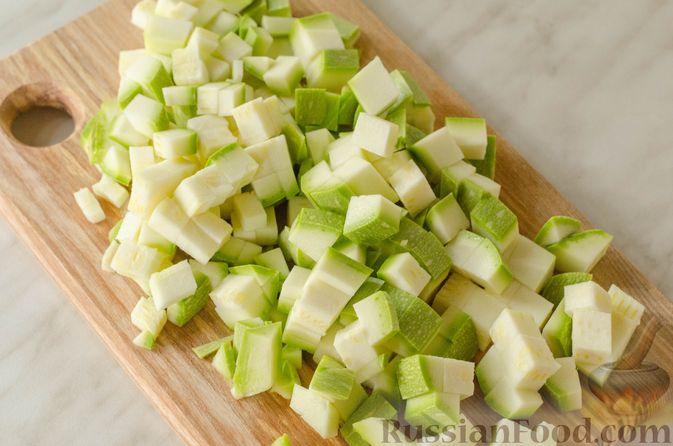 Фото приготовления рецепта: Овощная лазанья - шаг №4