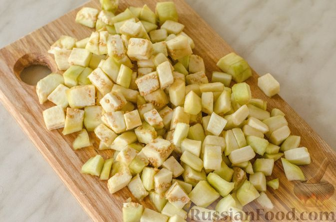 Фото приготовления рецепта: Овощная лазанья - шаг №8