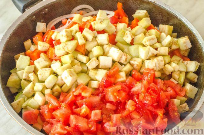 Фото приготовления рецепта: Овощная лазанья - шаг №9