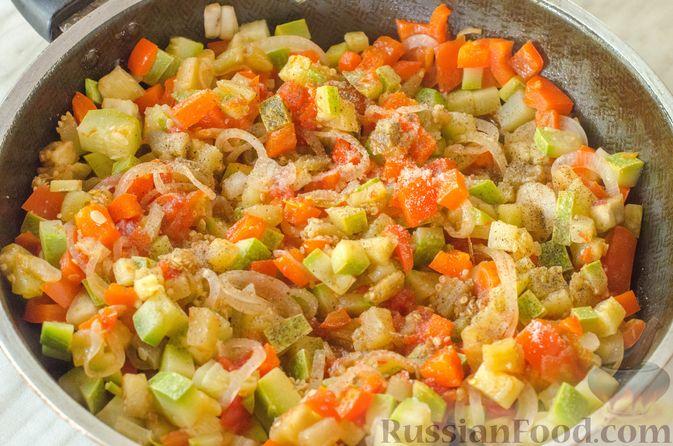 Фото приготовления рецепта: Овощная лазанья - шаг №13