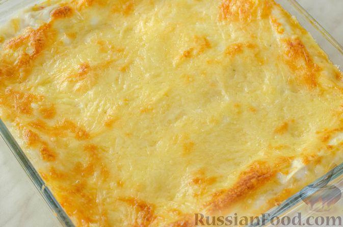 Фото приготовления рецепта: Овощная лазанья - шаг №21