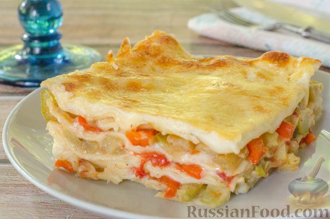 Фото приготовления рецепта: Овощная лазанья - шаг №22