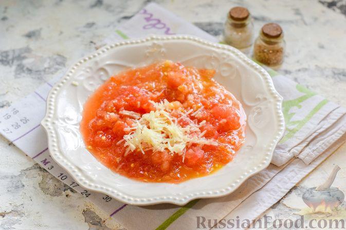 Фото приготовления рецепта: Борщ с цветной капустой и тушенкой - шаг №7
