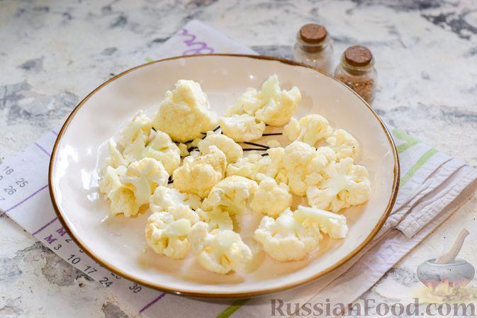 Фото приготовления рецепта: Борщ с цветной капустой и тушенкой - шаг №8