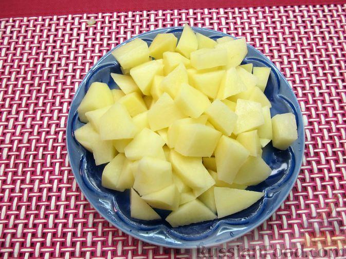 Фото приготовления рецепта: Суп из свинины с пшеном и помидорами - шаг №9