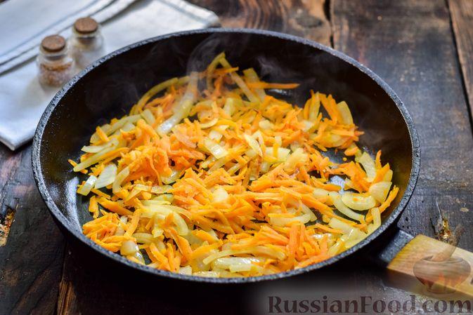 Фото приготовления рецепта: Морковный суп-пюре с фрикадельками из куриного фарша - шаг №3