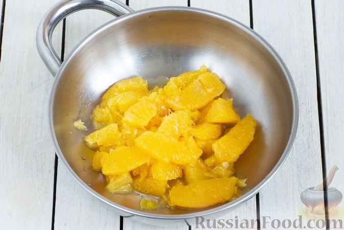 Фото приготовления рецепта: Яблочно-апельсиновый джем - шаг №5