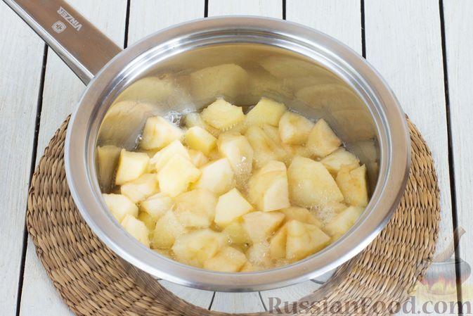 Фото приготовления рецепта: Яблочно-апельсиновый джем - шаг №3