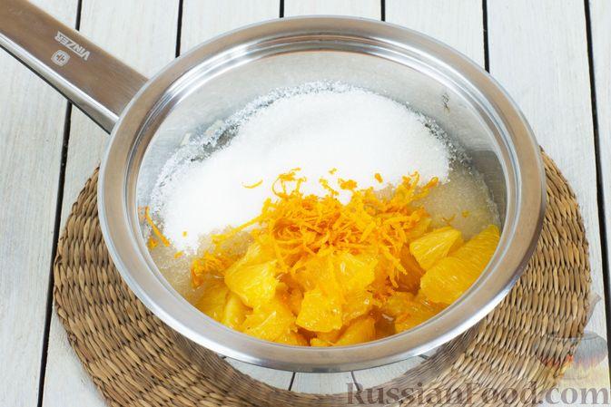 Фото приготовления рецепта: Яблочно-апельсиновый джем - шаг №7