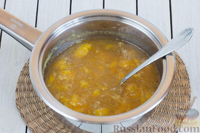 Фото приготовления рецепта: Яблочно-апельсиновый джем - шаг №8