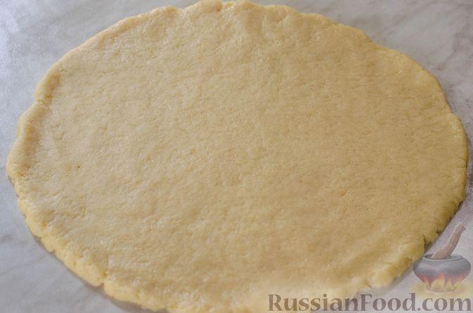 Фото приготовления рецепта: Яблочный пирог с карамелью - шаг №18