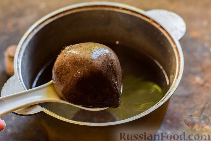 Фото приготовления рецепта: Крем-суп из свеклы с кабачком и куриной грудкой - шаг №2