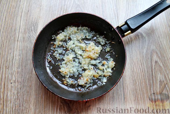 Фото приготовления рецепта: Баклажаны, фаршированные сыром и орехами - шаг №10