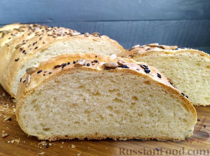Фото к рецепту: Пшеничный хлеб на кефире