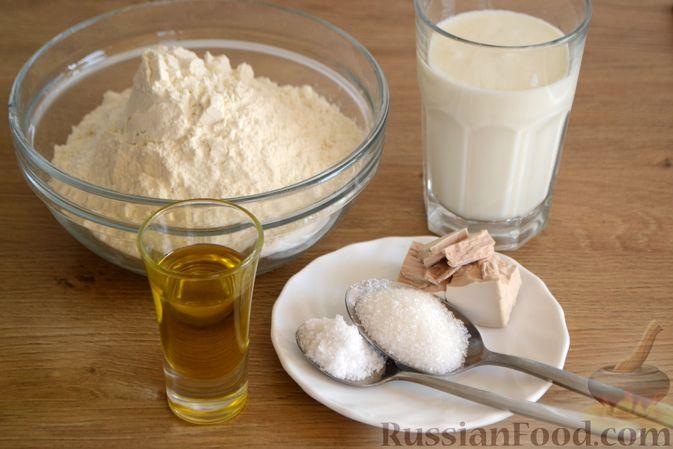 Фото приготовления рецепта: Пшеничный хлеб на кефире - шаг №1