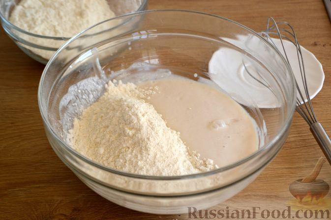 Фото приготовления рецепта: Пшеничный хлеб на кефире - шаг №3