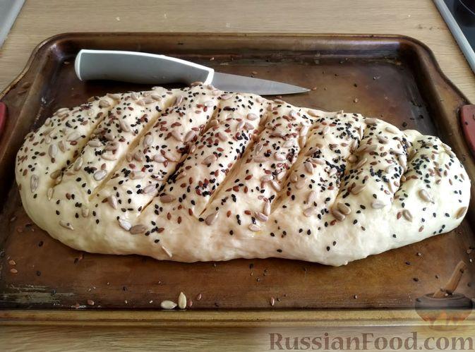 Фото приготовления рецепта: Пшеничный хлеб на кефире - шаг №10