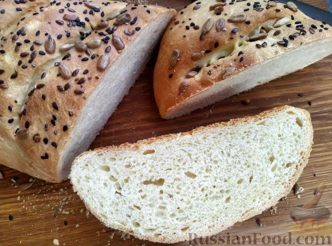 Фото приготовления рецепта: Пшеничный хлеб на кефире - шаг №13