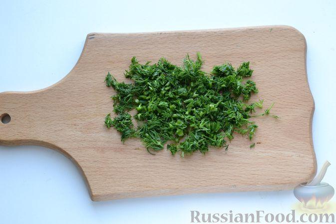 Фото приготовления рецепта: Пекинская капуста, запечённая с мясным фаршем - шаг №12