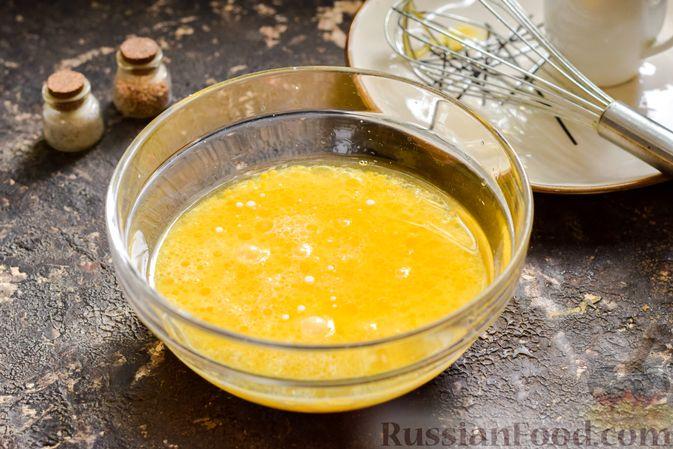 Фото приготовления рецепта: Куриная печень с грибами и помидорами, в микроволновке - шаг №7