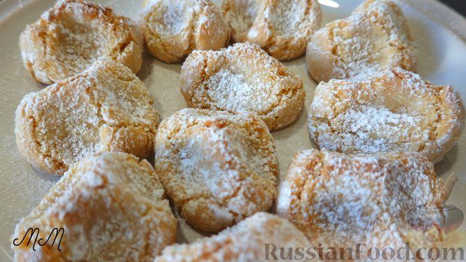 Фото к рецепту: Итальянское печенье из миндальной муки