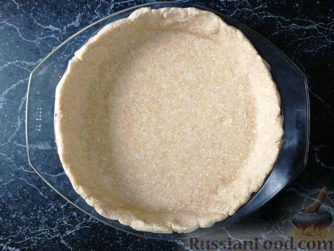 Фото приготовления рецепта: Лимонный кекс с сиропом - шаг №7