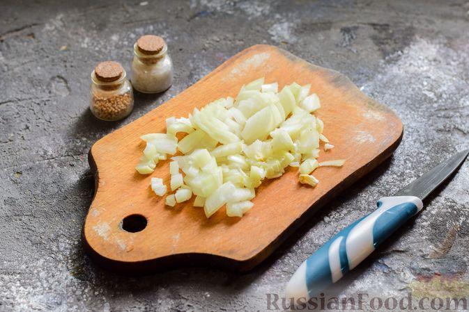Фото приготовления рецепта: Пряный свекольный крем-суп с обжаренным нутом - шаг №6