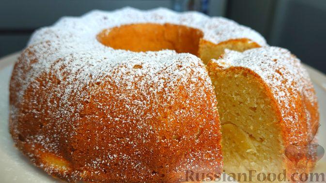 Фото к рецепту: Творожно-яблочный пирог