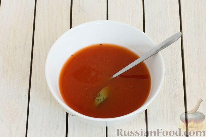Фото приготовления рецепта: Овощное рагу со свёклой, маринованными огурцами и картофелем - шаг №4