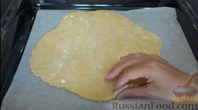Фото приготовления рецепта: Пирог-галета со сливами - шаг №5