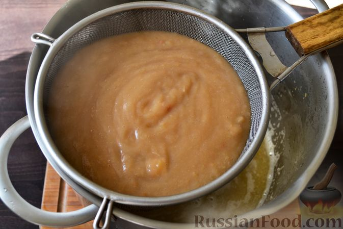 Фото приготовления рецепта: Джем из белого винограда и яблок на зиму - шаг №6