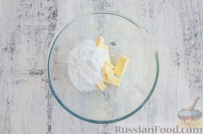 Фото приготовления рецепта: Шоколадные пирожные с зефиром - шаг №2