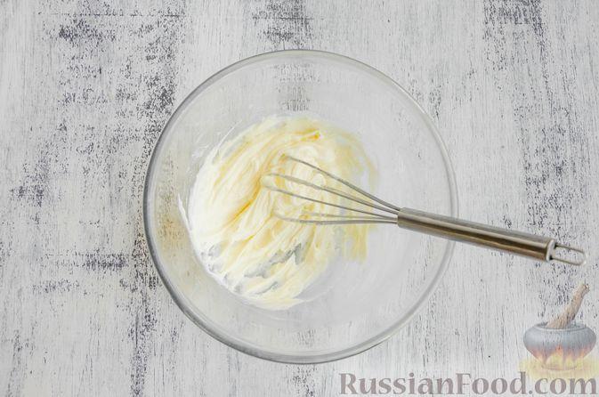 Фото приготовления рецепта: Шоколадные пирожные с зефиром - шаг №3