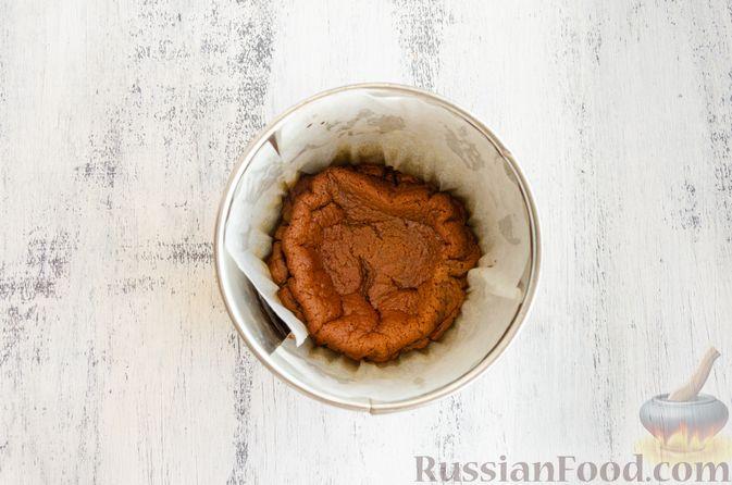 Фото приготовления рецепта: Шоколадно-тыквенное суфле с пряностями и ганашем - шаг №13