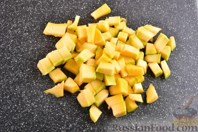 Фото приготовления рецепта: Овощной суп с тыквой и чечевицей - шаг №6